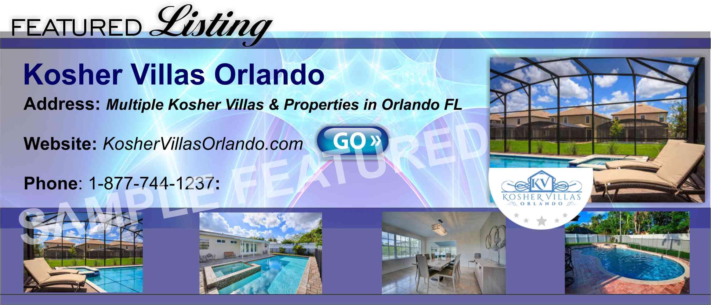 Florida Kosher Villas Orlando Koshervacationcentral Hotels Page