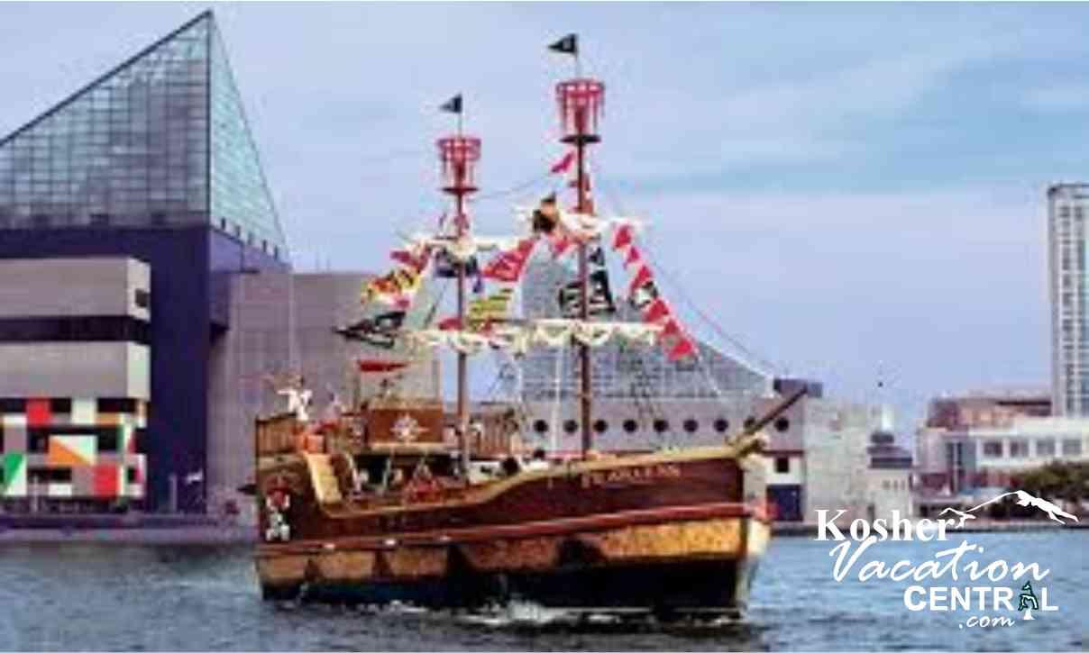 Baltimore Pirate Ship Cruise Trip Harbor Attractions Washinton DC - Pirate ship cruise