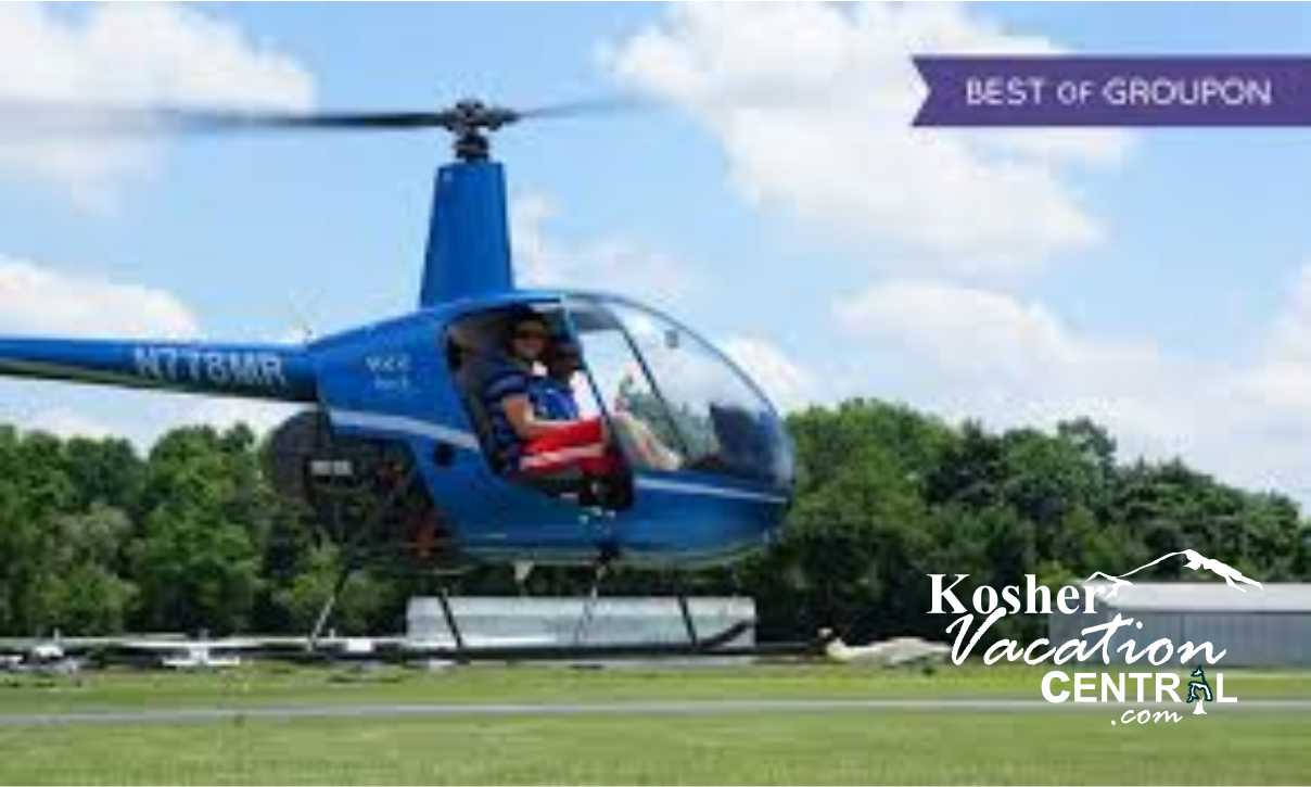 Poconos Helicopter Flying Lessons Chol Hamoed Kosher Trips