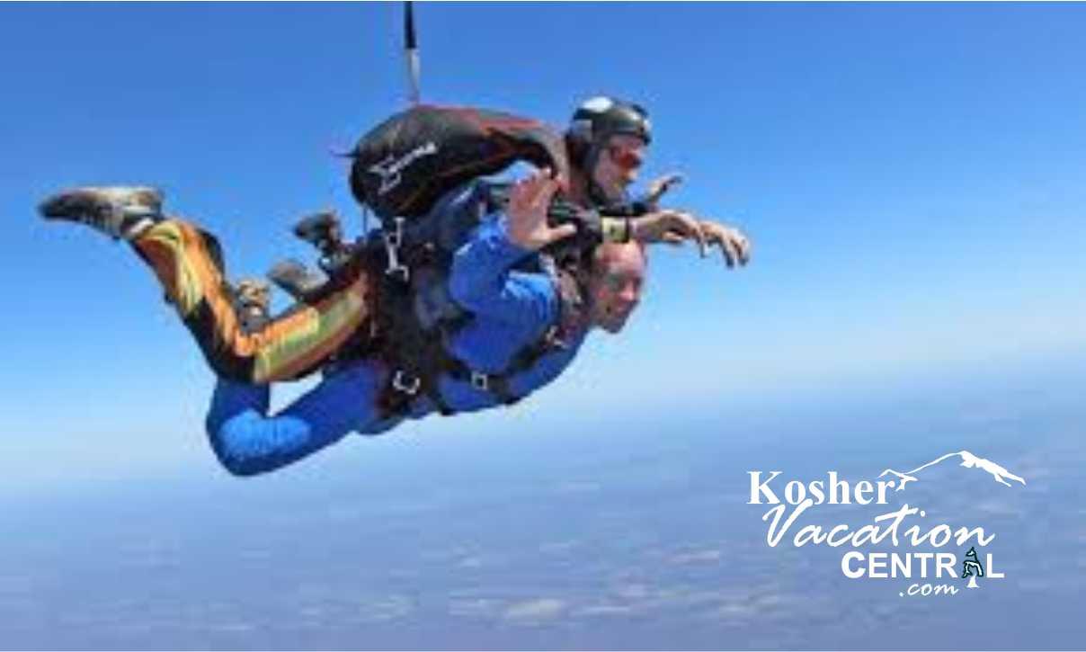 Poconos Tandem Skydiving Chol Hamoed Kosher Trips Jewish Trips