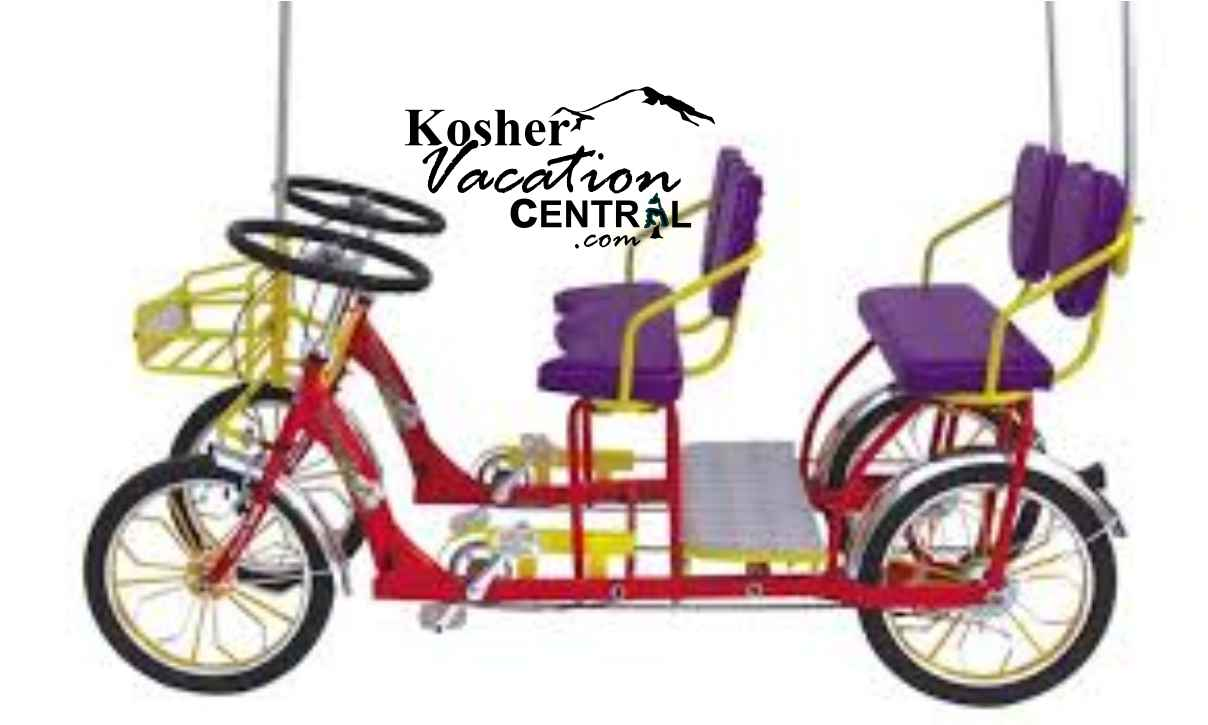 Chicago Surrey Bike Rental Chol Hamoed Kosher Trips Jewish Trips